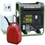 sportsman GEN4000DF,3500 running watts