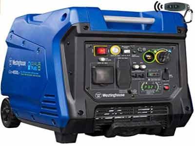 westinghouse IGen4500DF dual fuel generator