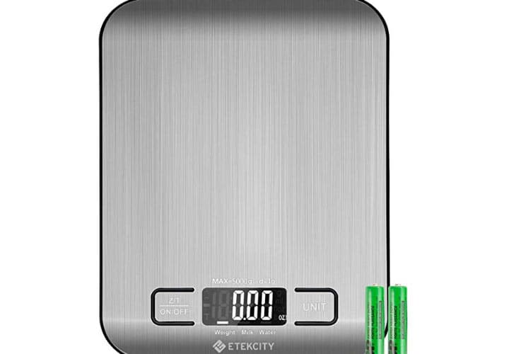 etekcity food digital kitchen scale weight grams