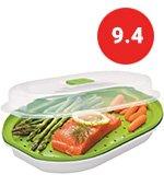 Prepworks Fish And Veggie Microwave Steamer