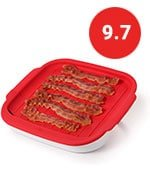 OXO Microwave Bacon Crisper with lid
