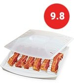Progressive Microwave Large Bacon Grill With Vented Cover price