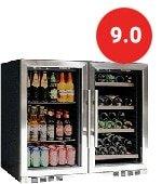 KingsBottle Beverage & Wine Refrigerator