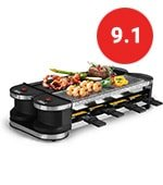 Artestia Electric Dual Raclette Grill
