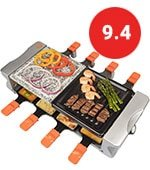 Masterchef Dual Cheese Raclette Table Grill