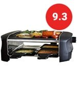 Milliard Raclette Grill for Four People