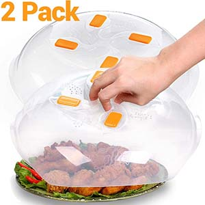 2 pack - microwave plate cover