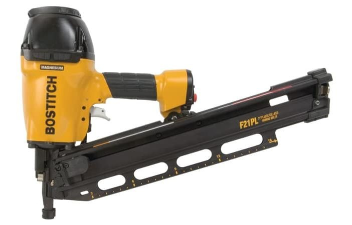 bostitch f21pl framing nailer review