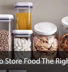 store food the right way