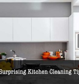 kitchen cleaning tips