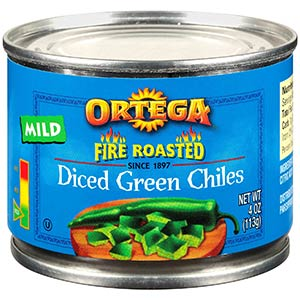 ortega diced green chiles