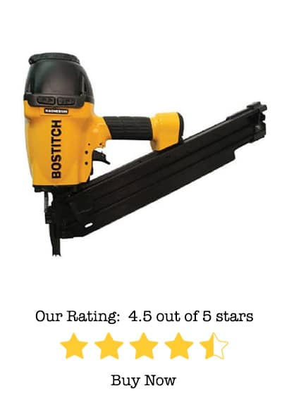 BOSTITCH F33PT 33-Degree Paper Tape Framing Nailer Review