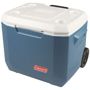 coleman portable cooler with wheels
