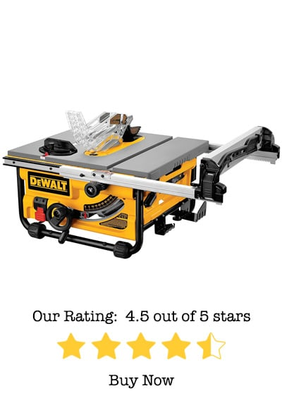 dewalt DW745 table saw review