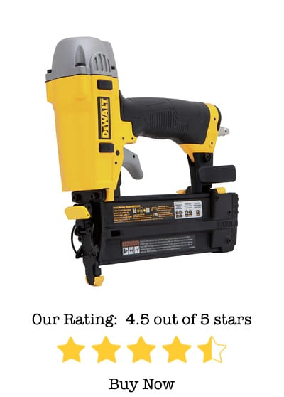 DeWalt DWFP12231 Pneumatic 18-Gauge 2-Inch Brad Nailer Review