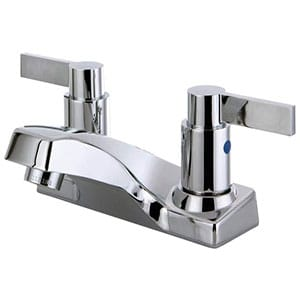 kingston brass fb2201ndl lavatory faucet with abs pop-up