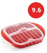 lekue microwave bacon cooker with lid