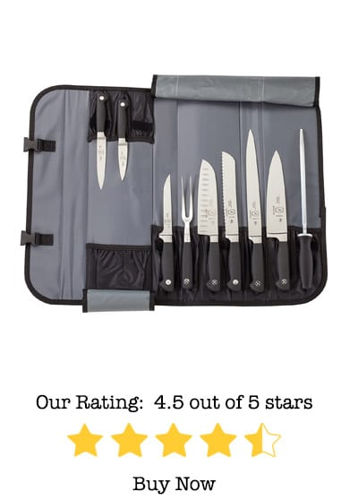 mercer culinary genesis 10 piece forged knife set review