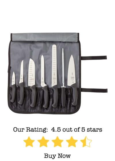 Mercer culinary millennia 8-piece knife roll set review