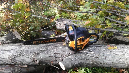 poulan pro 18-inch chainsaw review