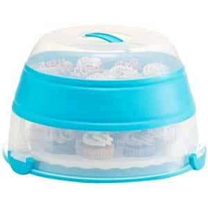 prepworks easy to transport muffins, cookies or dessert carrier