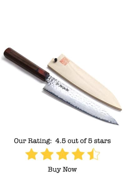 yoshihiro nsw 46 layers hammered damascus gyuto knife review