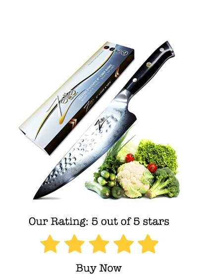 zelite infinity chef knife 8-inch-alpha royal series review
