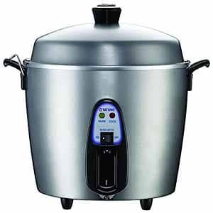 stainless steel rice cooker