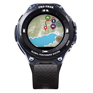 "casio men's""pro trek"" outdoor gps resin sports watch"