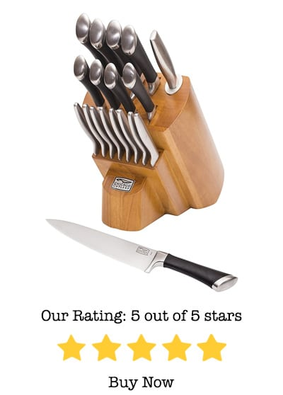 chicago cutlery fusion 18-piece block set review
