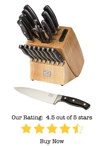 chicago cutlery insignia2 18 piece cutlery set review