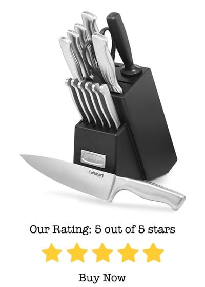 cuisinart c77ss-15pk classic knife set review