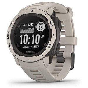 garmin instinct, rugged outdoor watch with gps