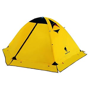 geertop backpacking tent for 2 person 4 season camping