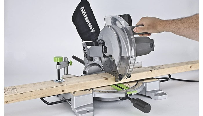 genesis compound miter saw review