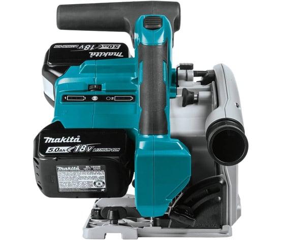 handling makita 18v x2 lxt circular saw