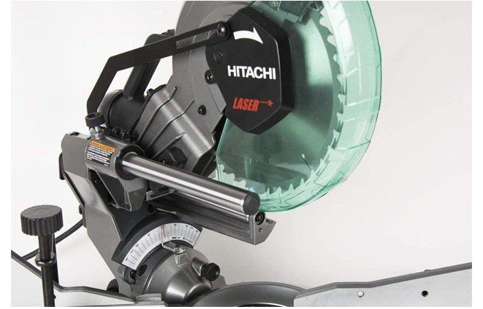 hitachi c10fshc 10″ sliding compound miter saw