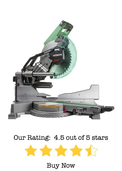 hitachi c10fshc 10″ sliding compound miter saw review