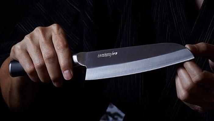 kamikoto inch santoku chefs knife review