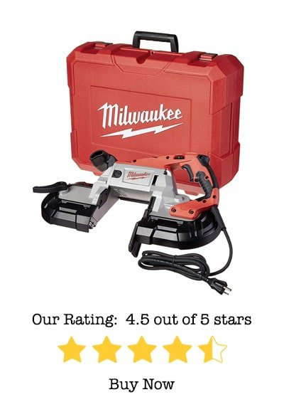 milwaukee 6232-21 deep cut band saw review