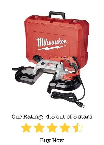 milwaukee 6232-21 deep cut band saw review