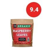 organic red raspberry leaf | herbal tea (200+ cups)
