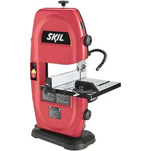 band saw with light
