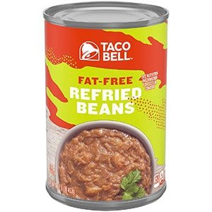 taco bell fat free refried beans