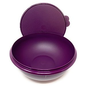 tupperware fix n mix mixing bowl 26 cup purple with purple seal