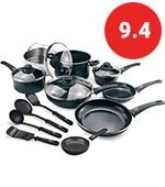 16 piece ceramic cookware set