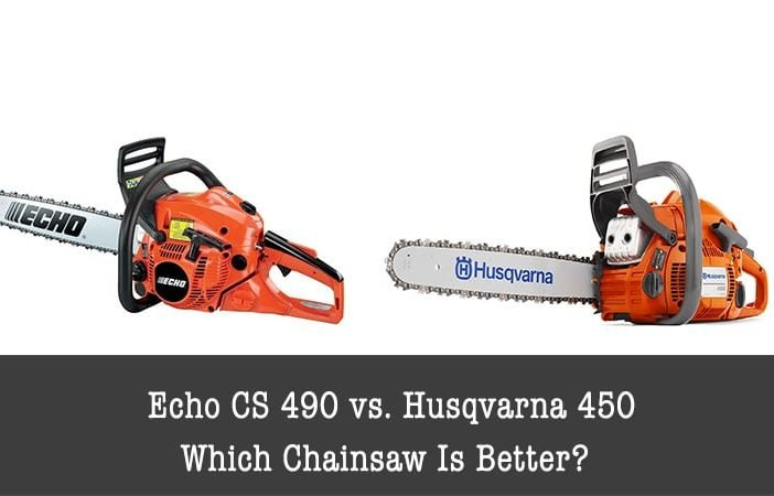echo cs 490 vs. husqvarna 450
