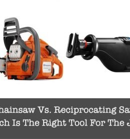chainsaw vs reciprocating saw