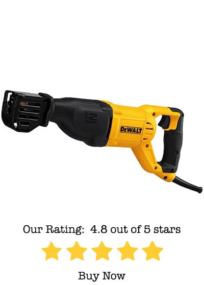 dewalt dwe305 12 amp reciprocating saw review