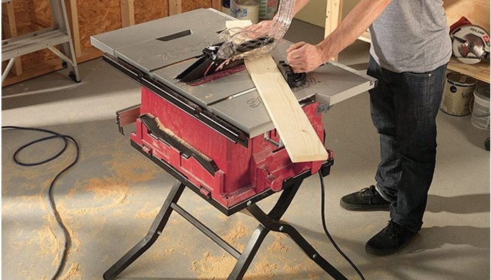 electrical considerations table saw